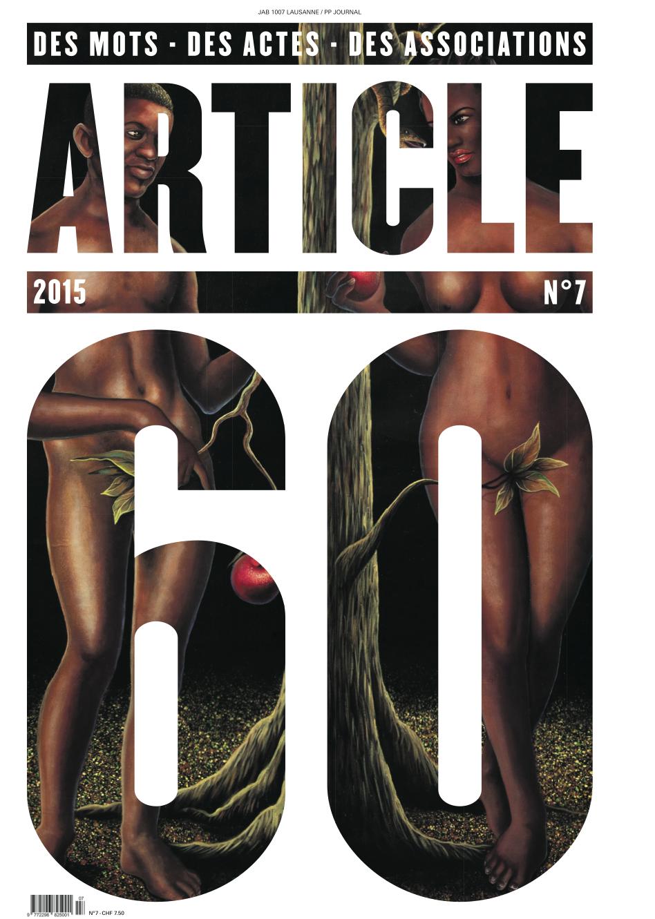Article 60 N°7_ UNE
