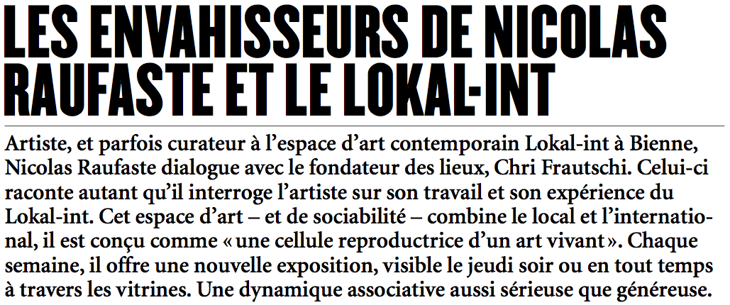 Raufaste_Lokal-int_Article 60 N°7